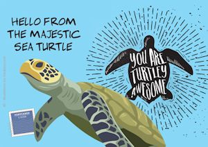 3postcards-sea-turtle-front