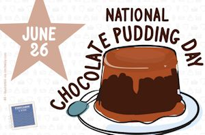 4postcards-national-chocolate-pudding-day-front