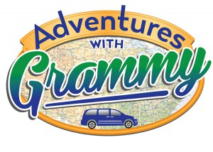 The author's graphic artist captured perfectly the spirit of Adventures with Grammy when he designed the logo.
